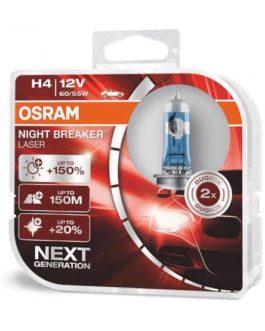 Osram Night Breaker H4 64193NL(Set of 2)