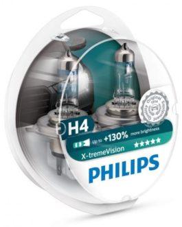 Phillips X-treme Vision H4 (Set of 2)