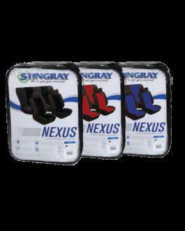 Stingray Nexus 6piece Seat Cover set (Black)