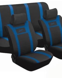 Stingray Sport 6piece Seat Cover set (Blue)