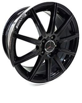 17″ Mercedes-Benz 5/112 Gloss Black
