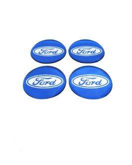 Centre Cap Sticker 70mm Ford