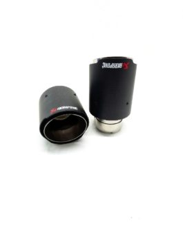 Akrapovic Gen 2 Exhaust Tip 54mm to 90mm