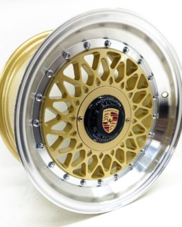 15″ Porsche 4/100(114) – Gold.