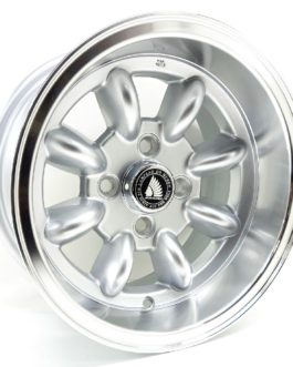 13″ Mini Lite 4/101.6 Hypersilver with Polished Lip