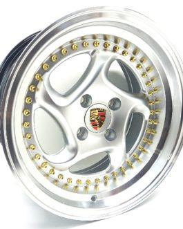 15″ Porsche 4/100 Hypersilver