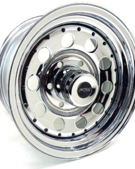 15″ FTM 6/139 Chrome Steel Rim