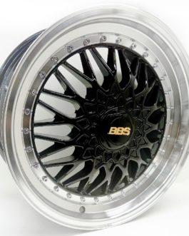 17″ BBS 4/100(108) Black Machine Lip