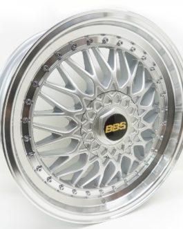 17″ BBS 4/100(108) Silver Machine Lip